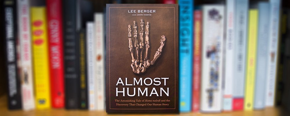 Lee R. Berger's Books Connects the Past and the Present